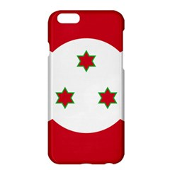 Flag Of Burundi Apple Iphone 6 Plus/6s Plus Hardshell Case