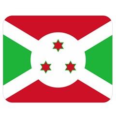 Flag Of Burundi Double Sided Flano Blanket (medium)