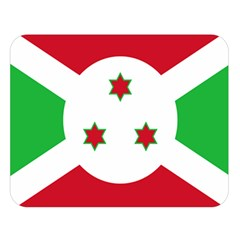 Flag Of Burundi Double Sided Flano Blanket (large)