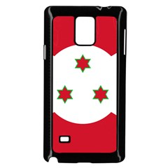 Flag Of Burundi Samsung Galaxy Note 4 Case (black)