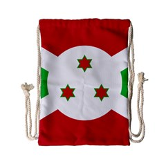 Flag Of Burundi Drawstring Bag (small)