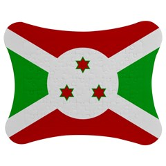 Flag Of Burundi Jigsaw Puzzle Photo Stand (bow)