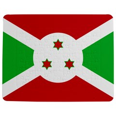 Flag Of Burundi Jigsaw Puzzle Photo Stand (rectangular)