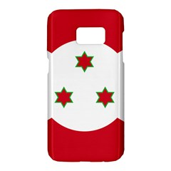 Flag Of Burundi Samsung Galaxy S7 Hardshell Case