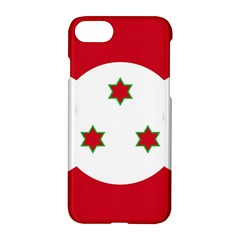 Flag Of Burundi Apple Iphone 7 Hardshell Case