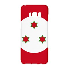 Flag Of Burundi Samsung Galaxy S8 Hardshell Case