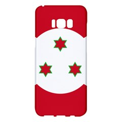 Flag Of Burundi Samsung Galaxy S8 Plus Hardshell Case