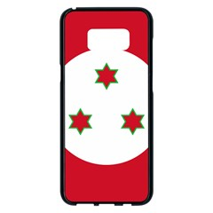 Flag Of Burundi Samsung Galaxy S8 Plus Black Seamless Case