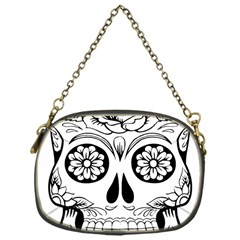 Sugar Skull Chain Purses (one Side)