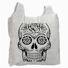 Sugar Skull Recycle Bag (two Side)