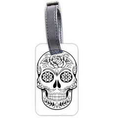 Sugar Skull Luggage Tags (two Sides)