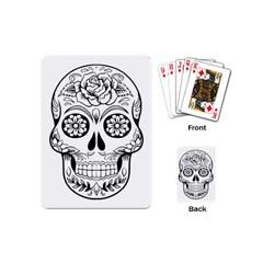 Sugar Skull Playing Cards (mini)