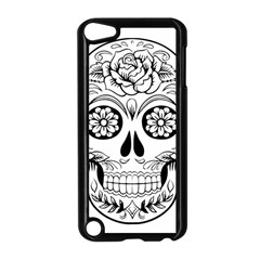 Sugar Skull Apple Ipod Touch 5 Case (black)
