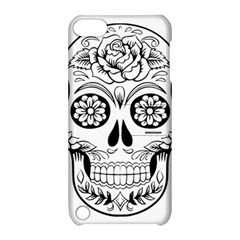 Sugar Skull Apple Ipod Touch 5 Hardshell Case With Stand by sherylchapmanphotography