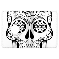Sugar Skull Kindle Fire Hdx Flip 360 Case by sherylchapmanphotography
