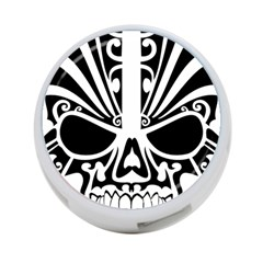 Tribal Sugar Skull 4 Port Usb Hub (one Side)
