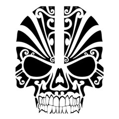 Tribal Sugar Skull Shower Curtain 60  X 72  (medium)