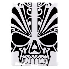 Tribal Sugar Skull Apple Ipad 3/4 Hardshell Case (compatible With Smart Cover)