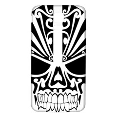 Tribal Sugar Skull Samsung Galaxy S5 Back Case (white)