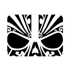 Tribal Sugar Skull Double Sided Flano Blanket (mini)