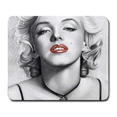 Blonde Bombshell Large Mousepads