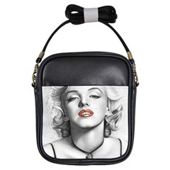 Blonde Bombshell Girls Sling Bags