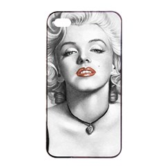 Blonde Bombshell Apple Iphone 4/4s Seamless Case (black)