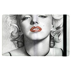Blonde Bombshell Apple Ipad Pro 9 7   Flip Case