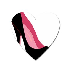 Stiletto  Heart Magnet by sherylchapmanphotography