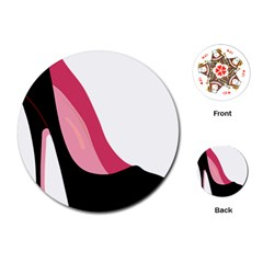 Stiletto  Playing Cards (round)