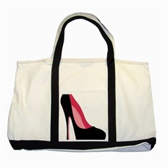 Stiletto  Two Tone Tote Bag