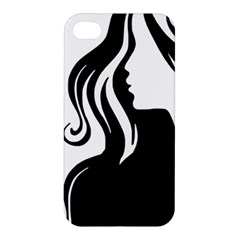 Long Haired Sexy Woman  Apple Iphone 4/4s Hardshell Case