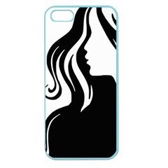 Long Haired Sexy Woman  Apple Seamless Iphone 5 Case (color)