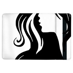 Long Haired Sexy Woman  Ipad Air Flip