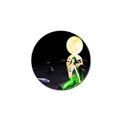 Sexy Mermaid In The Moonlight Golf Ball Marker (10 Pack)