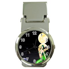 Sexy Mermaid In The Moonlight Money Clip Watches