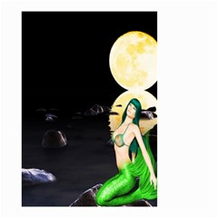 Sexy Mermaid In The Moonlight Small Garden Flag (two Sides)