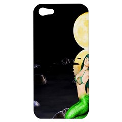 Sexy Mermaid In The Moonlight Apple Iphone 5 Hardshell Case