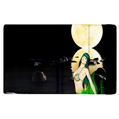 Sexy Mermaid In The Moonlight Apple Ipad 3/4 Flip Case