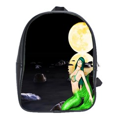 Sexy Mermaid In The Moonlight School Bag (xl)