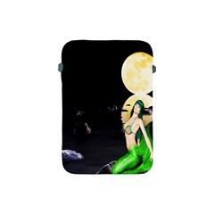Sexy Mermaid In The Moonlight Apple Ipad Mini Protective Soft Cases
