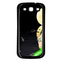 Sexy Mermaid In The Moonlight Samsung Galaxy S3 Back Case (black)
