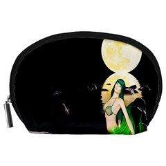 Sexy Mermaid In The Moonlight Accessory Pouches (large)