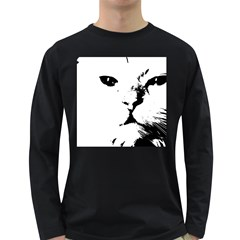 Cat Long Sleeve Dark T Shirts
