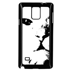 Cat Samsung Galaxy Note 4 Case (black)