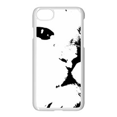 Cat Apple Iphone 8 Seamless Case (white)