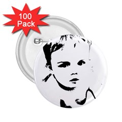 Cupid s Heart 2 25  Buttons (100 Pack)