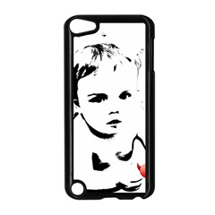 Cupid s Heart Apple Ipod Touch 5 Case (black)