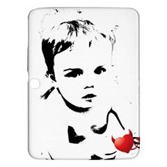 Cupid s Heart Samsung Galaxy Tab 3 (10 1 ) P5200 Hardshell Case