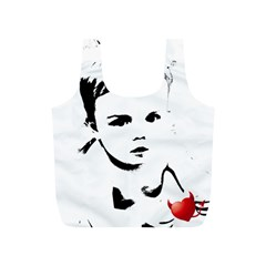 Cupid s Heart Full Print Recycle Bags (s)